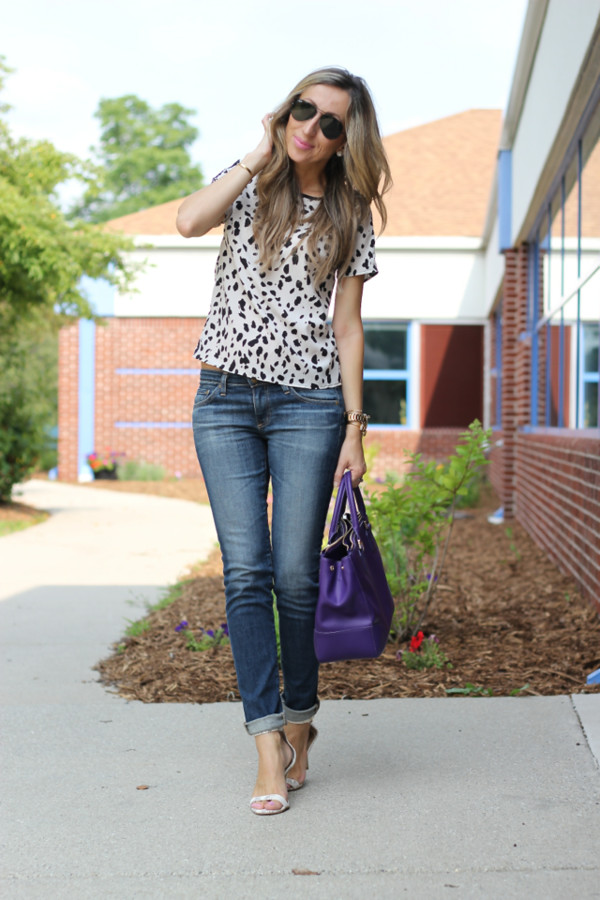 lilly's style top jeans shoes bag