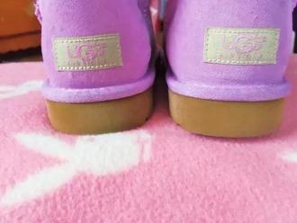 shoes purple ugg uggs plain color