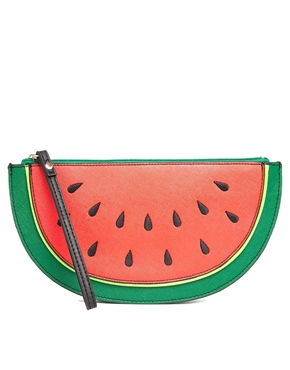New Look | New Look Watermelon Clutch Bag at ASOS