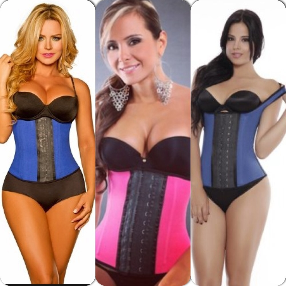 Waisted Shapes — Latex Sport Cincher & Latex Sport Vest