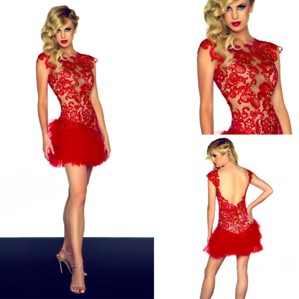 Short Prom Dress Short Evening Dress Lace Prom Dress Party Dress