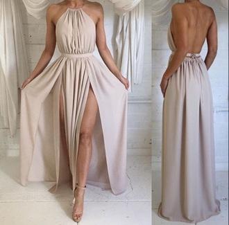 dress ball gown dress nude dress
