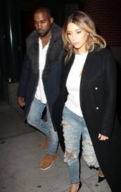 jeans,kim kardashian,kanye west