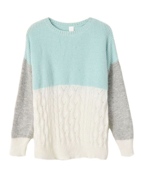 Fluffy sweater with fine knit details