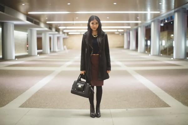 fashion of a novice sweater skirt coat shoes bag jewels