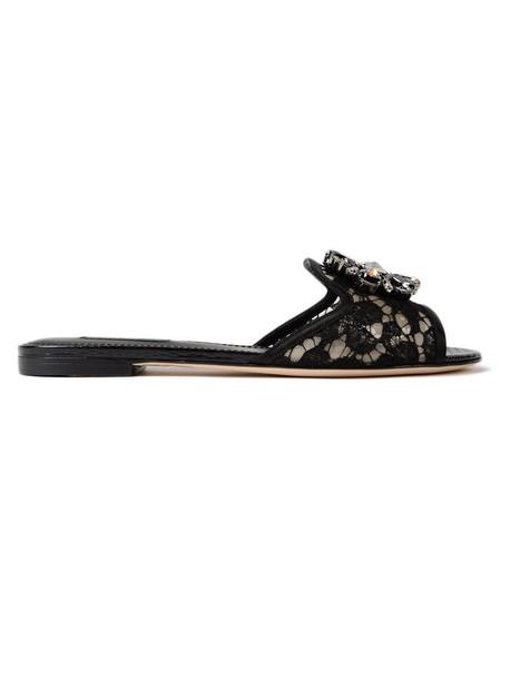 Dolce & Gabbana lace shoes