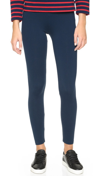 David Lerner Classic Leggings - Navy