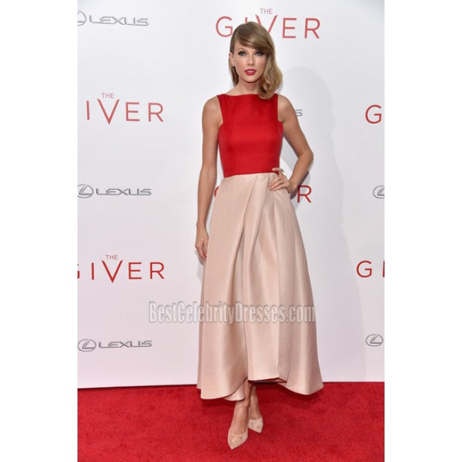29e0a20cf6d Taylor Swift Ankle-length Sleeveless Formal Dress  The Giver  New ...