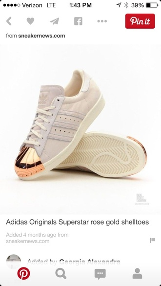 shoes adidas superstar metal  toee