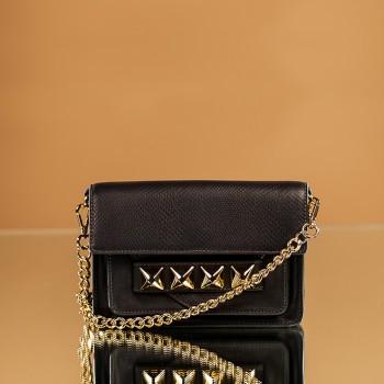Leather Handbags - Grayson Top Handle Crossbody Handbag by Linea Pelle