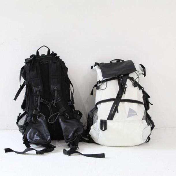 bag, skateboard, backpack, rucksack, rucksack,
