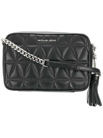 women quilted bag crossbody bag leather black