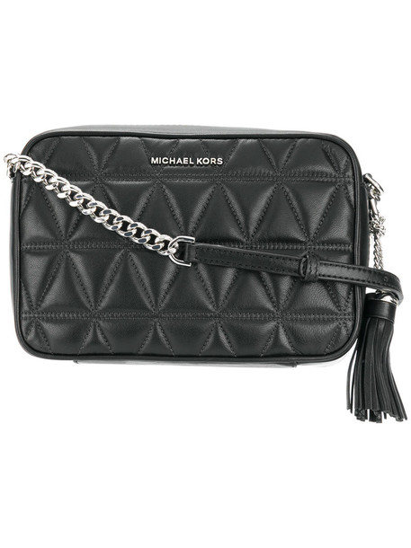 MICHAEL Michael Kors women quilted bag crossbody bag leather black