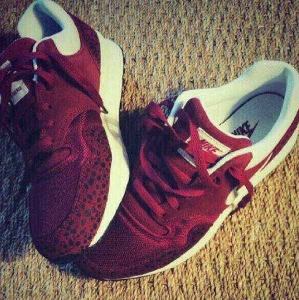shoes air max animal print