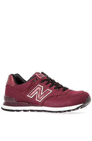 New Balance Sneaker High Roller 574 in Red -  Karmaloop.com