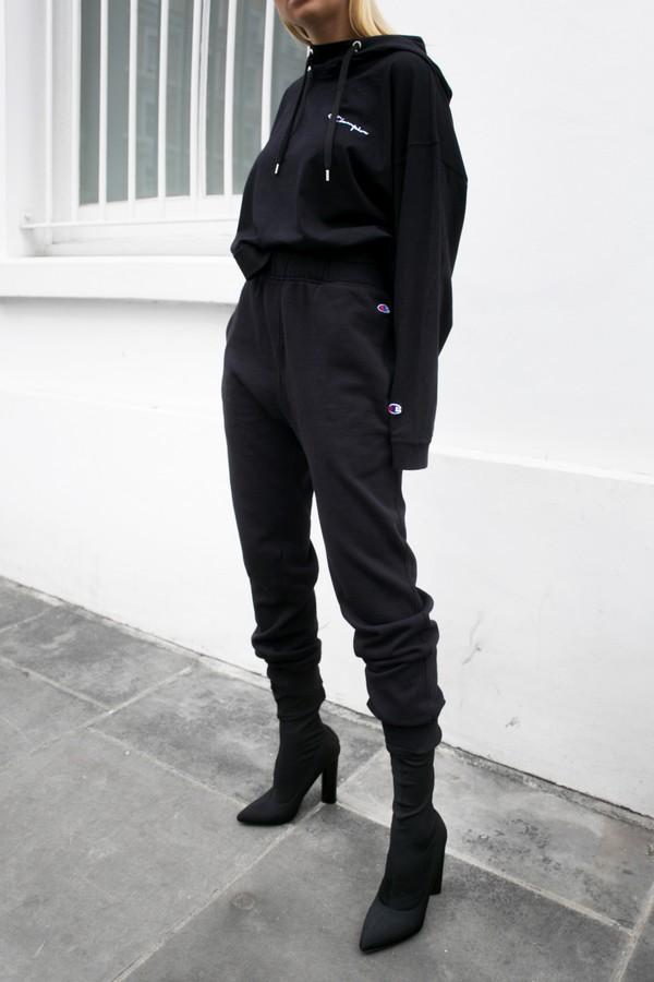 Pants Tumblr Black Pants Tracksuit Joggers Joggers