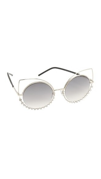 light sunglasses gold grey