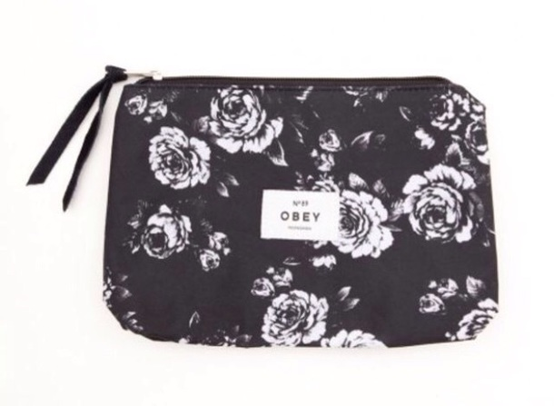 bag obey black and white