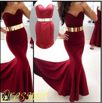 mermaid evening dress sweetheart dresses