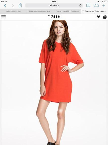 dress red dress short arms