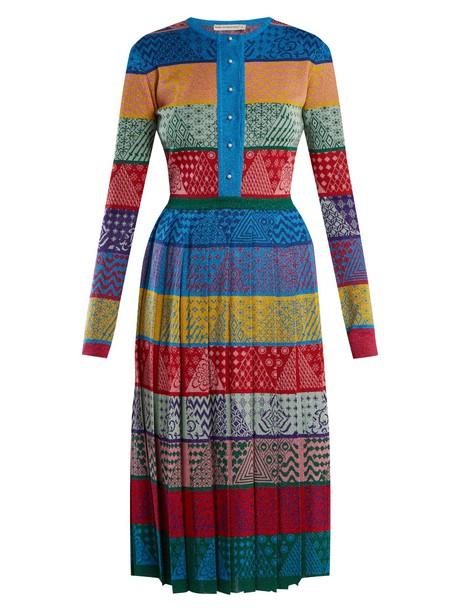MARY KATRANTZOU dress midi dress midi wool knit