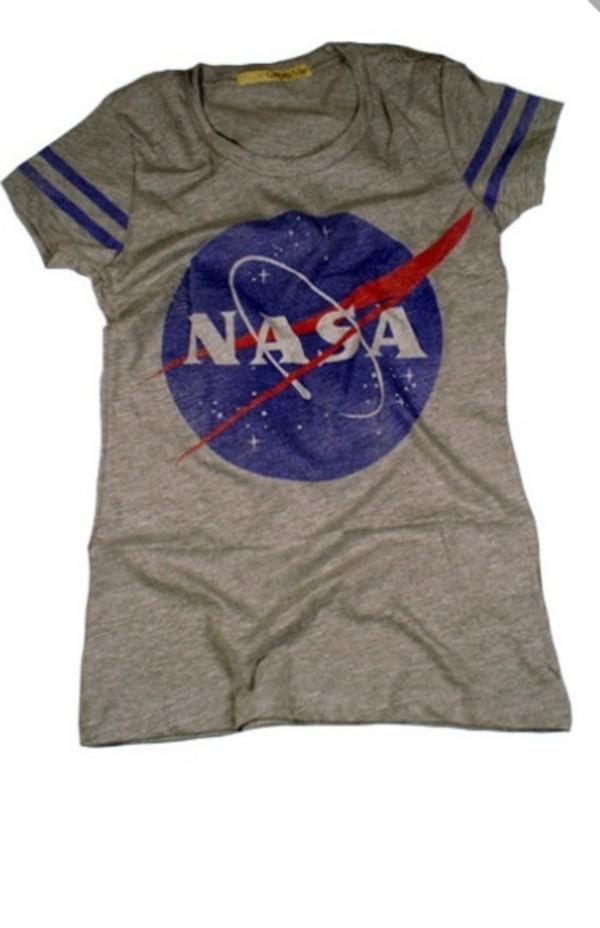 shirt nasa t-shirt graphic tee graphic tee