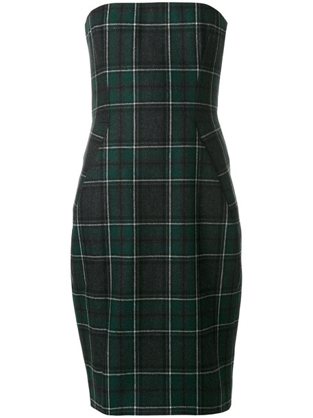 Dsquared2 dress women wool tartan