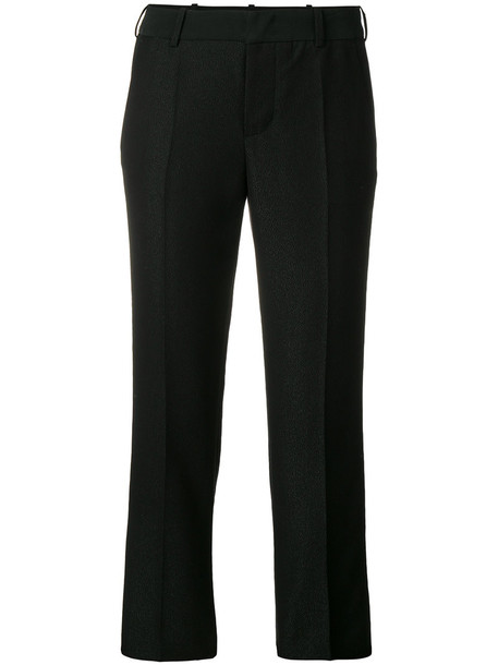 Zadig & Voltaire women black bright pants
