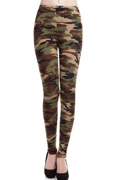 Army Print Leggings | Outfit Made