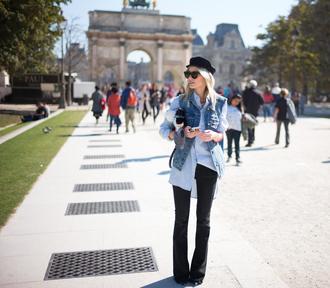 lisa rvd blogger jacket shirt hat shoes bag
