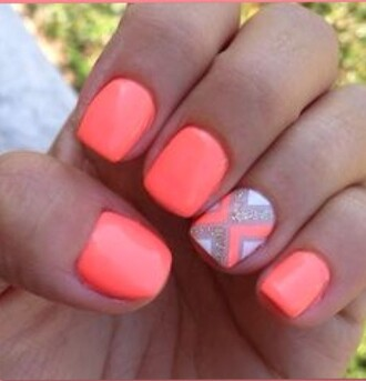 nail polish perfect coral bag blouse coat dress gloves hair accessory jeans jewels nail accessories make-up