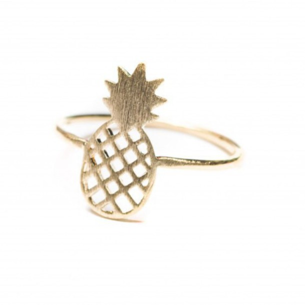 jewels ring summer ananas