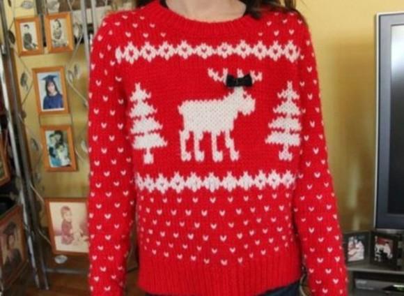 red sweater red christmas sweater christmas sweater ugly christmas sweater