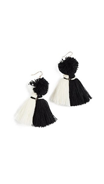MISA tassel earrings jewels