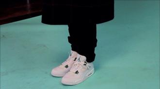 shoes jordan jordans trainers sneakers urban pastel pink