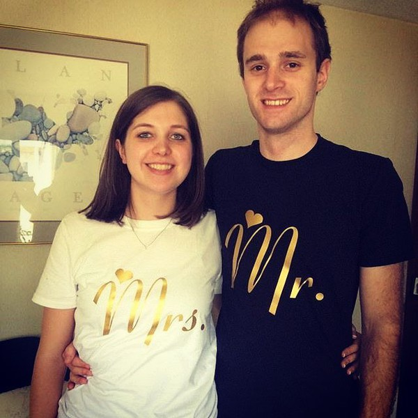t-shirt tees2peace mr and mrs sweatshirts mr shirt mrs tee wedding wedding clothes late afternoon matching set matching couples matching shirts matching tee shirts matching shirts for couples family set graphic tee love inlove his and hers shirts anniversary present valentines day gift idea