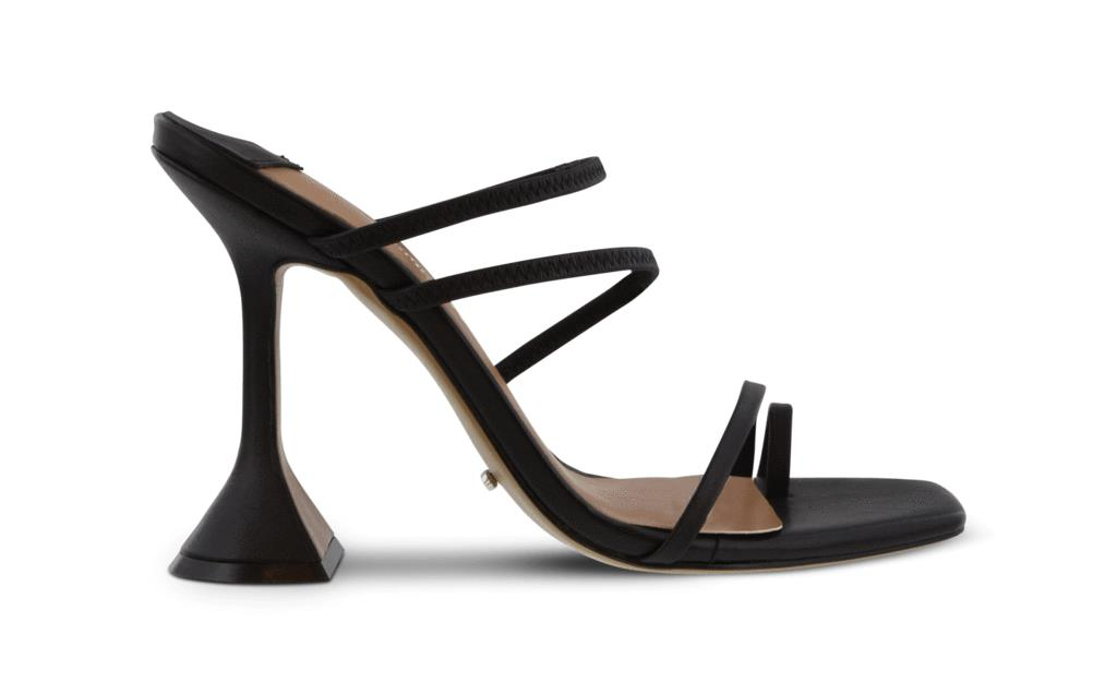 Stellar Black Capretto Heels
