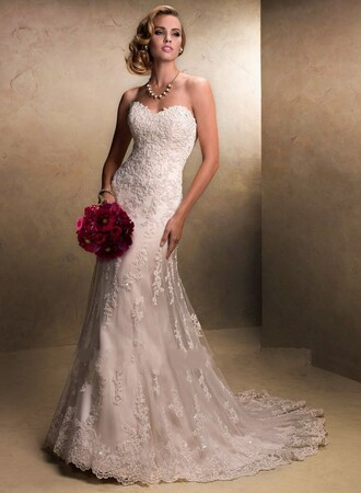 dress vintage wedding dress maggie sottero