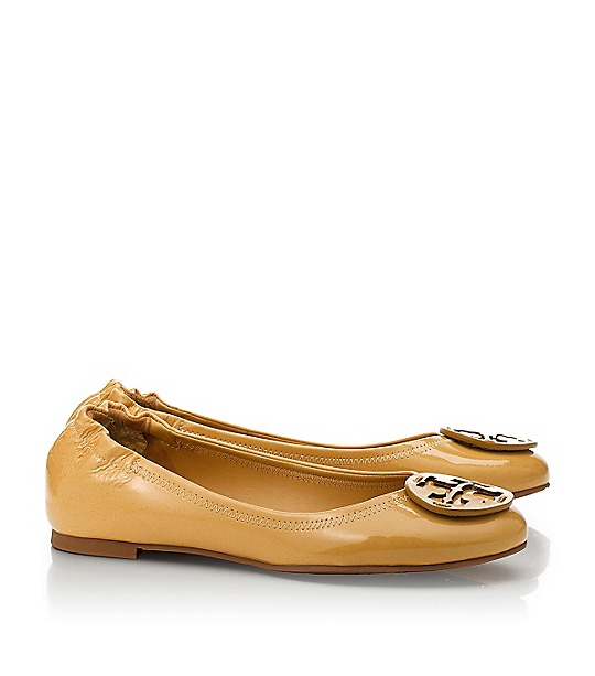Polished Patent Reva Ballet Flat : Women's Designer Shoes | Tory Burch  | Womens All Revas