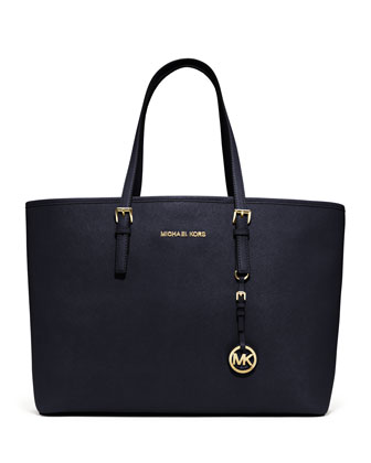 MICHAEL Michael Kors  Medium Jet Set Multifunction Saffiano Travel Tote - Michael Kors