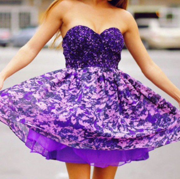 dress purple lavender purple dress floral sleeveless spring summer summer dress