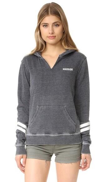 hoodie vintage black sweater
