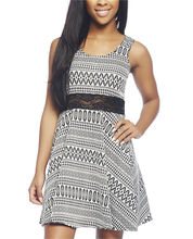 Tribal Skater Dress | Wet Seal