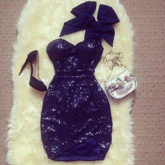 dress glitter dress sequin dress sequins short dress strapless night dress clubwear club dresses