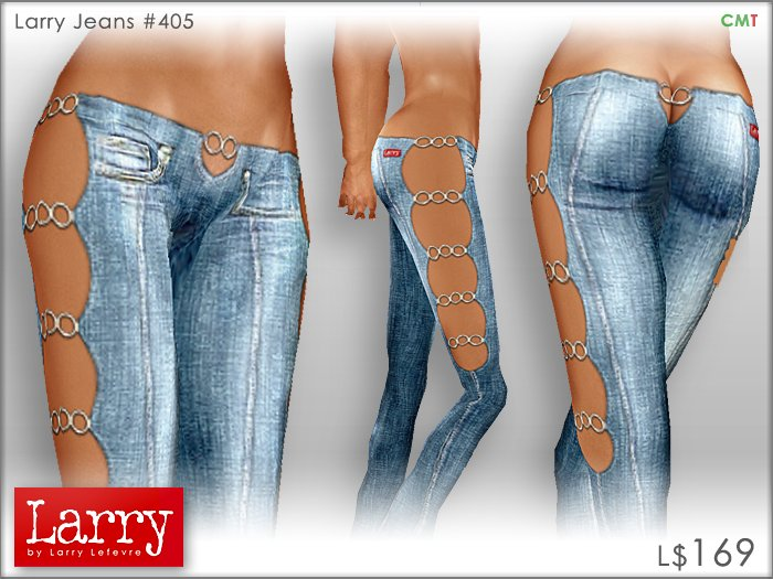 Second Life Marketplace - LARRY JEANS - Jeans 405 - Blue