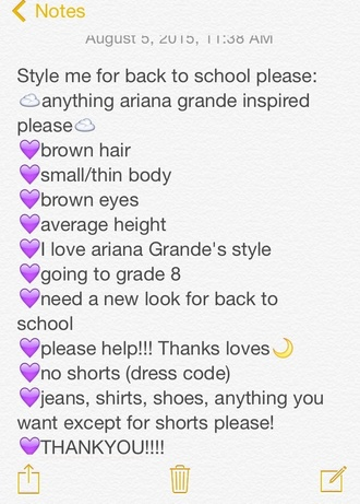 sweater ariana grande style back to school jeans shirt jewelry shoes forever 21 hot topic garage clothing aeropostale stitches american eagle outfitters style me school uniform school girl ripped jeans white shirt
