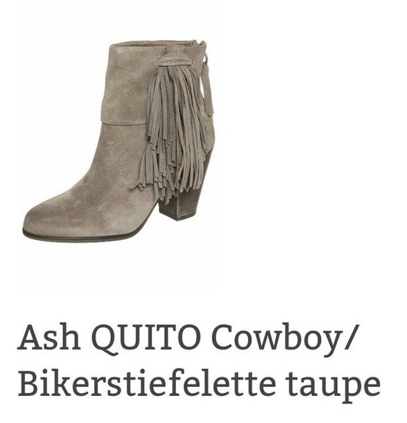 shoes boots ankle boots ash taupe beige spring/summer 2014 39