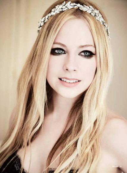 jewels headband pretty hair silver leafs avril lavigne jewelry