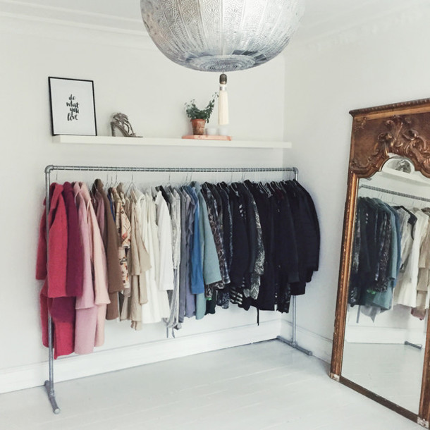 Passions For Fashion Blogger Home Decor Lamp Tassel Mirror Bag