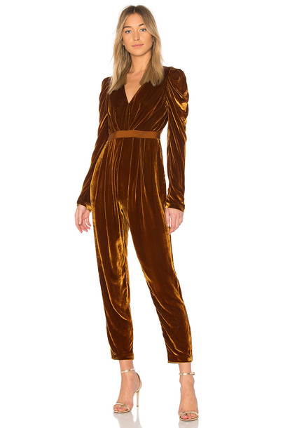 Ulla Johnson jumpsuit orange